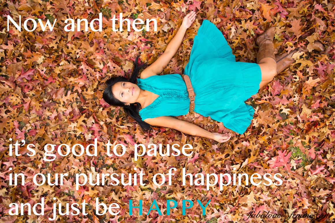 Quote – Pursuit of happiness