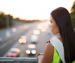 Lime Green Dress - Melbourne Freeway Dress Fashion