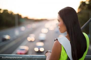 Lime Green Dress - Melbourne Freeway Dress Fashion