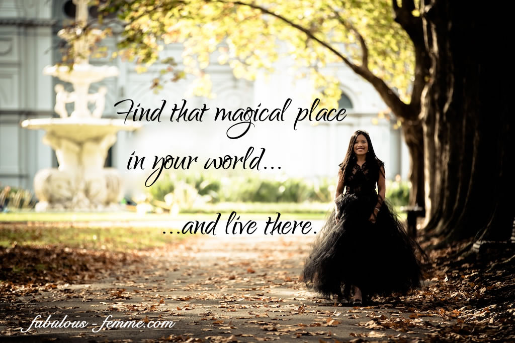 Quote – A magical place