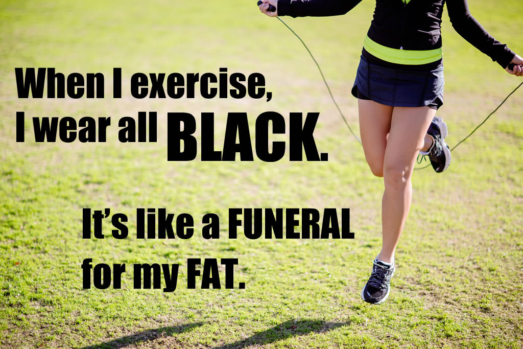 Quote – Funeral for my fat