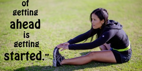 start quote - fitness - health and motivational quote
