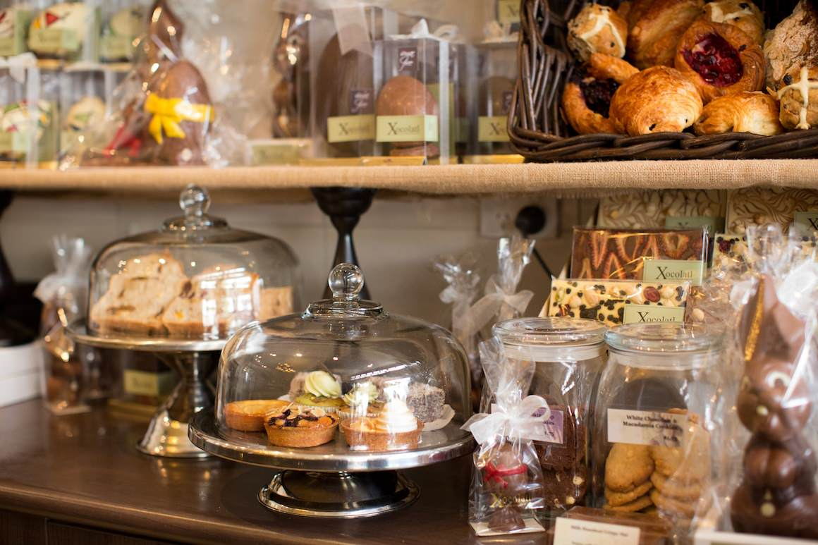 cakes, biscuits and sweets at xocolatl in Canterbury