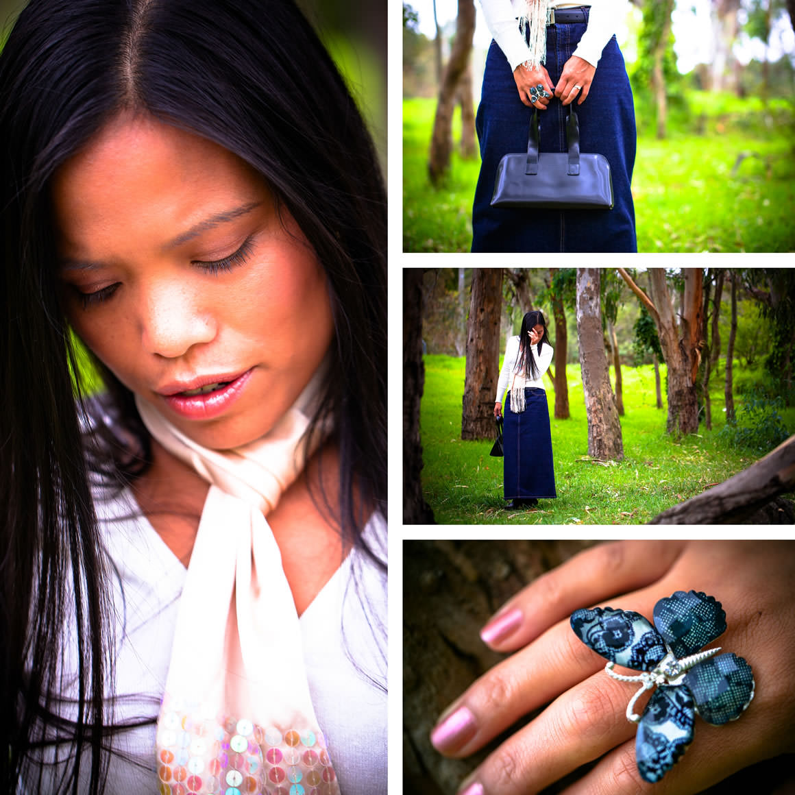 Fashion Blog in Melbourne features nature photo shoot
