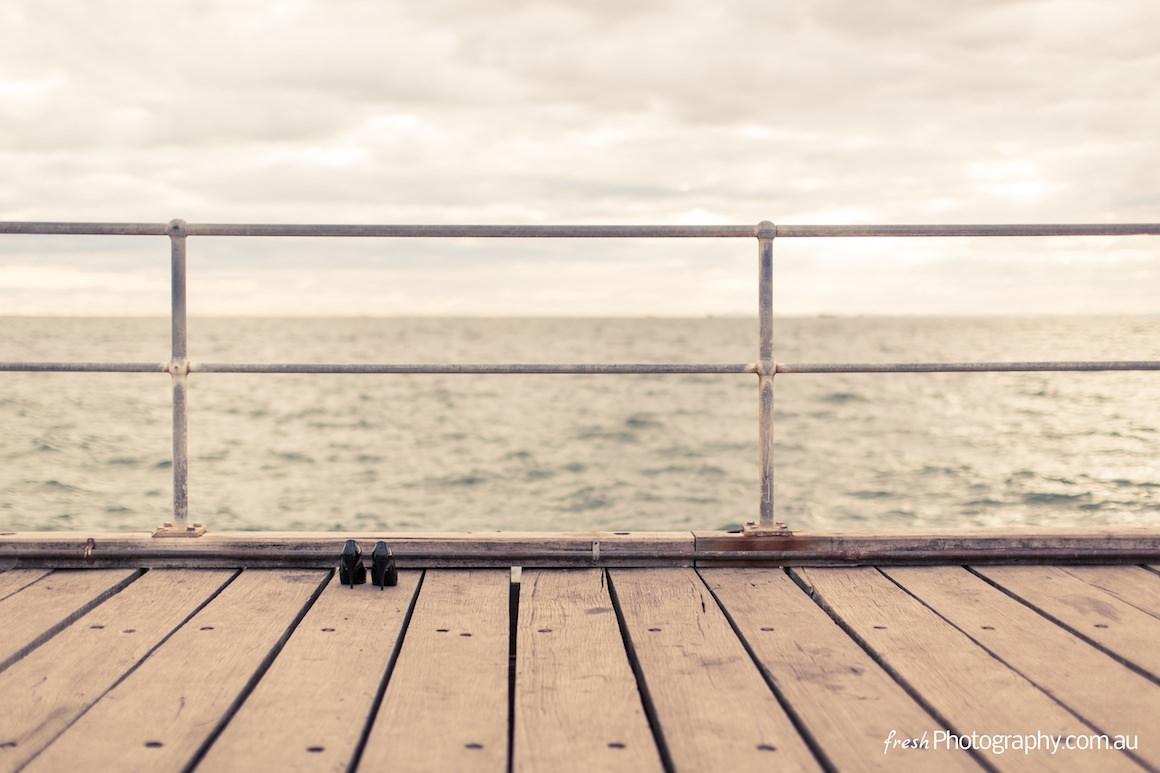 empty pier - melbourne
