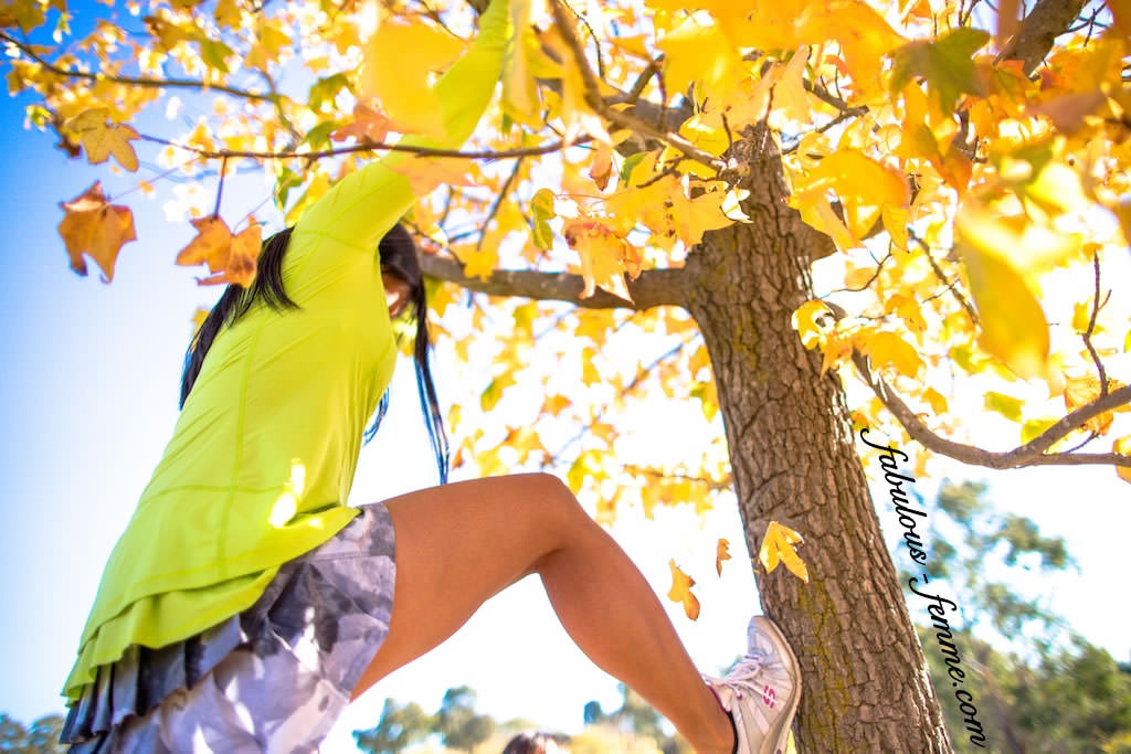 get fit and climb trees