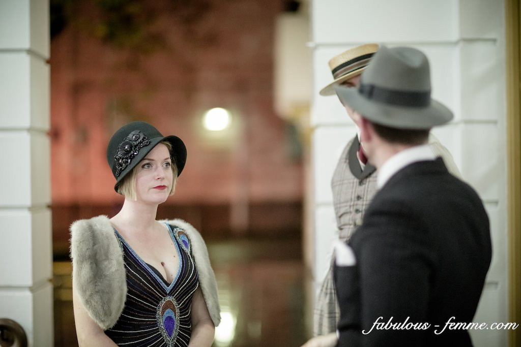 vintage outfits - 20s - great party at Malvern Town Hall