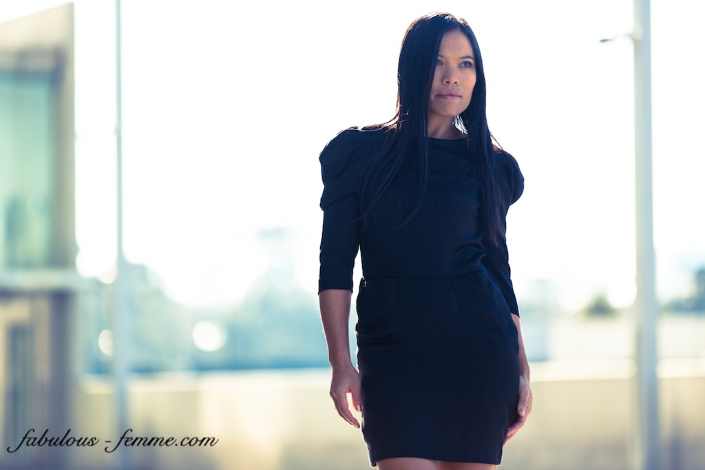 black evening outfit - stylish in melbourne - melbournestyle