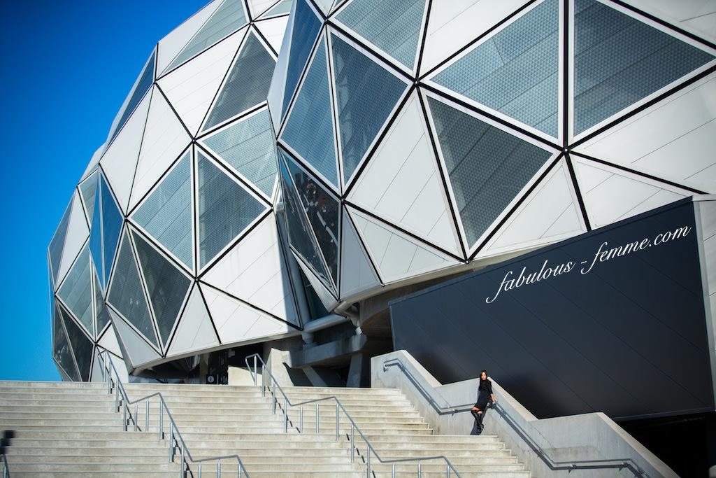 melbourne futuristic stadium