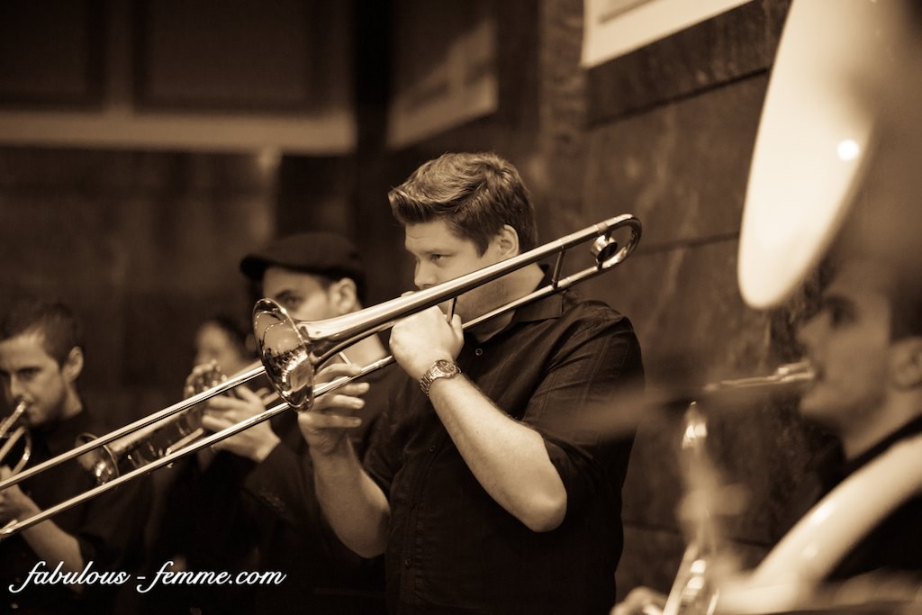Horns of Leroy at The Great Gatsby Winter Soiree Melbourne