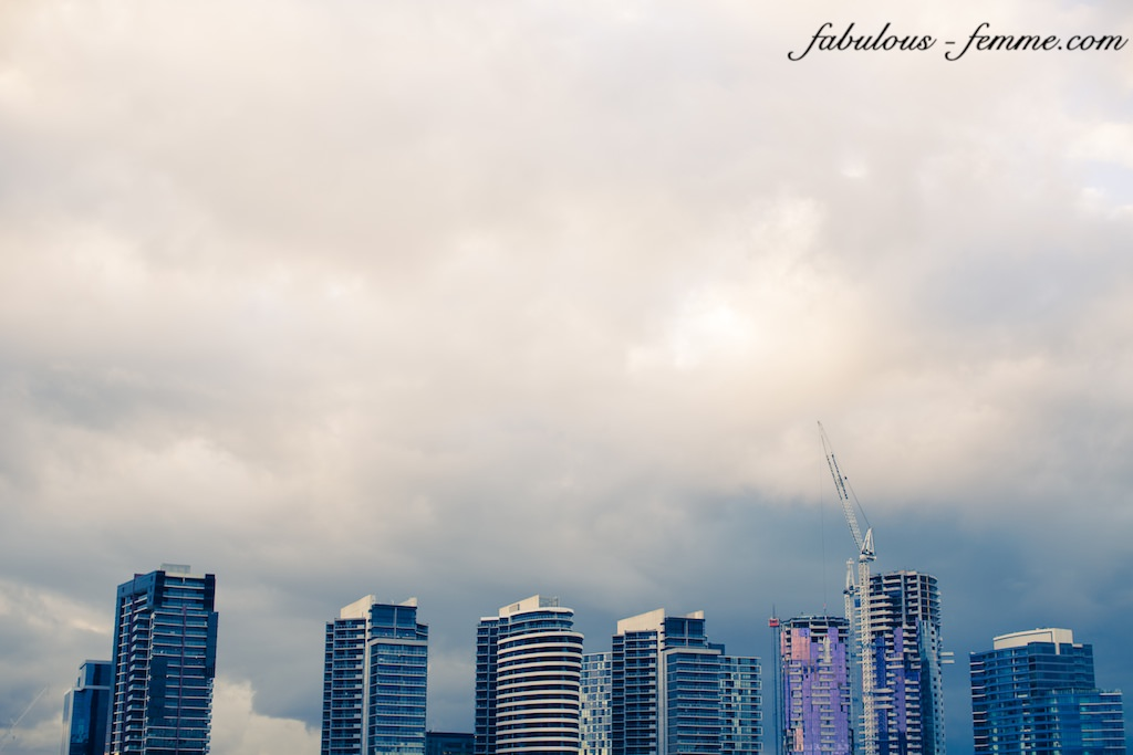 skyscrapers in melbourne docklands