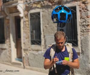 street view walker in venice