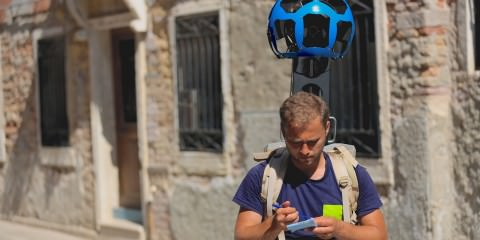 street view walker in venice