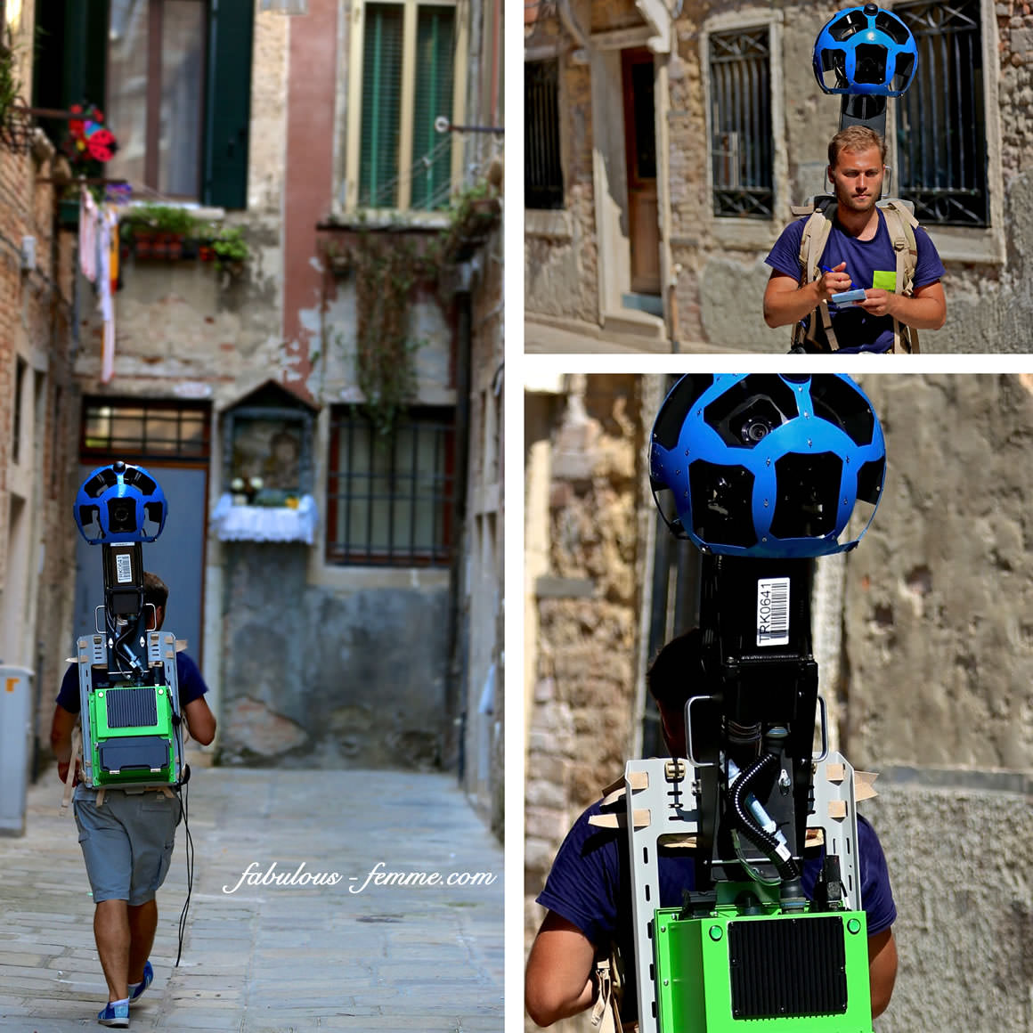 street view walker
