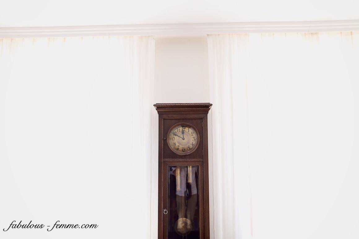 vinatge grandfather clock