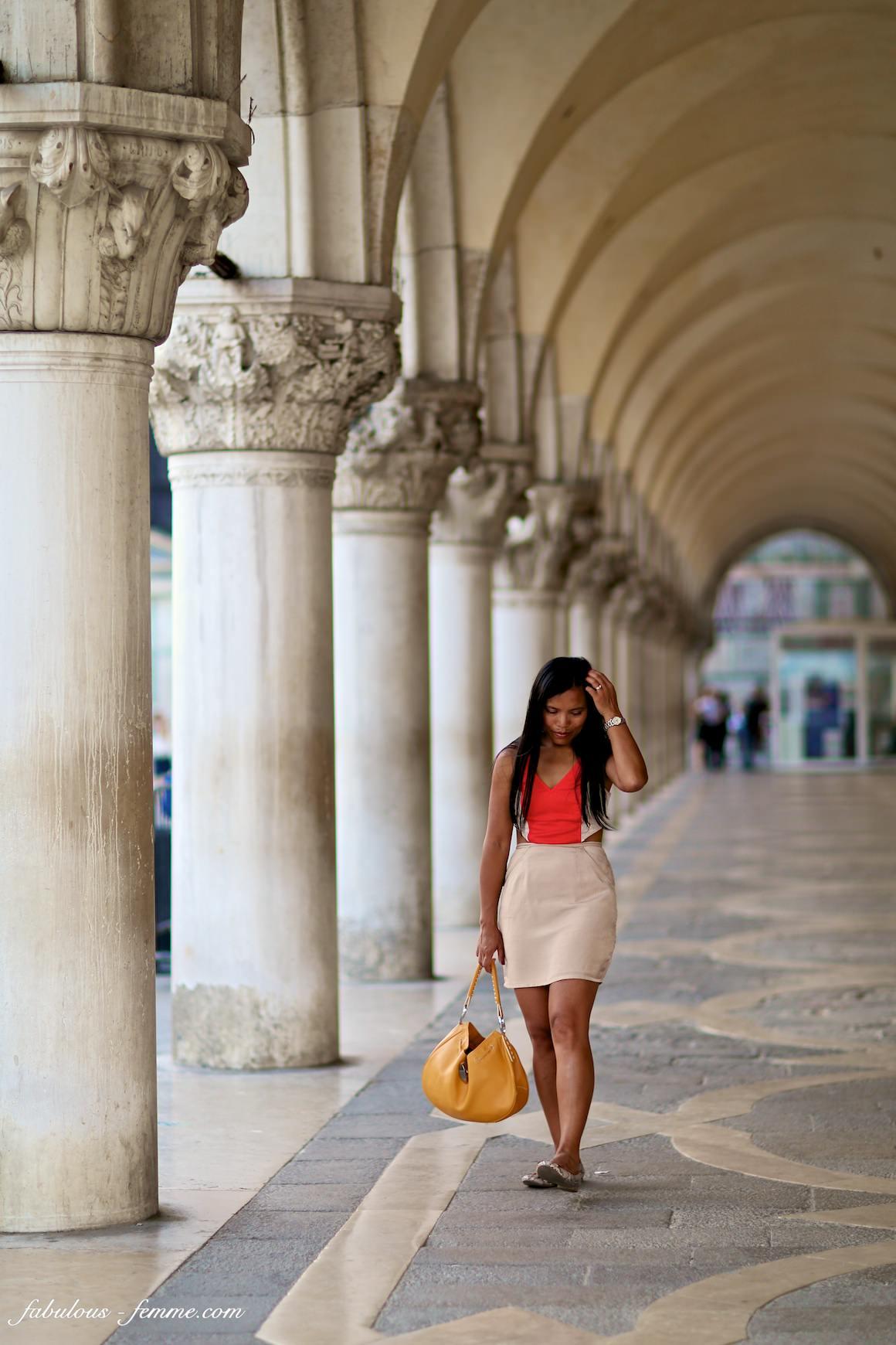 piazza san marco - asian girl - fashion blogger