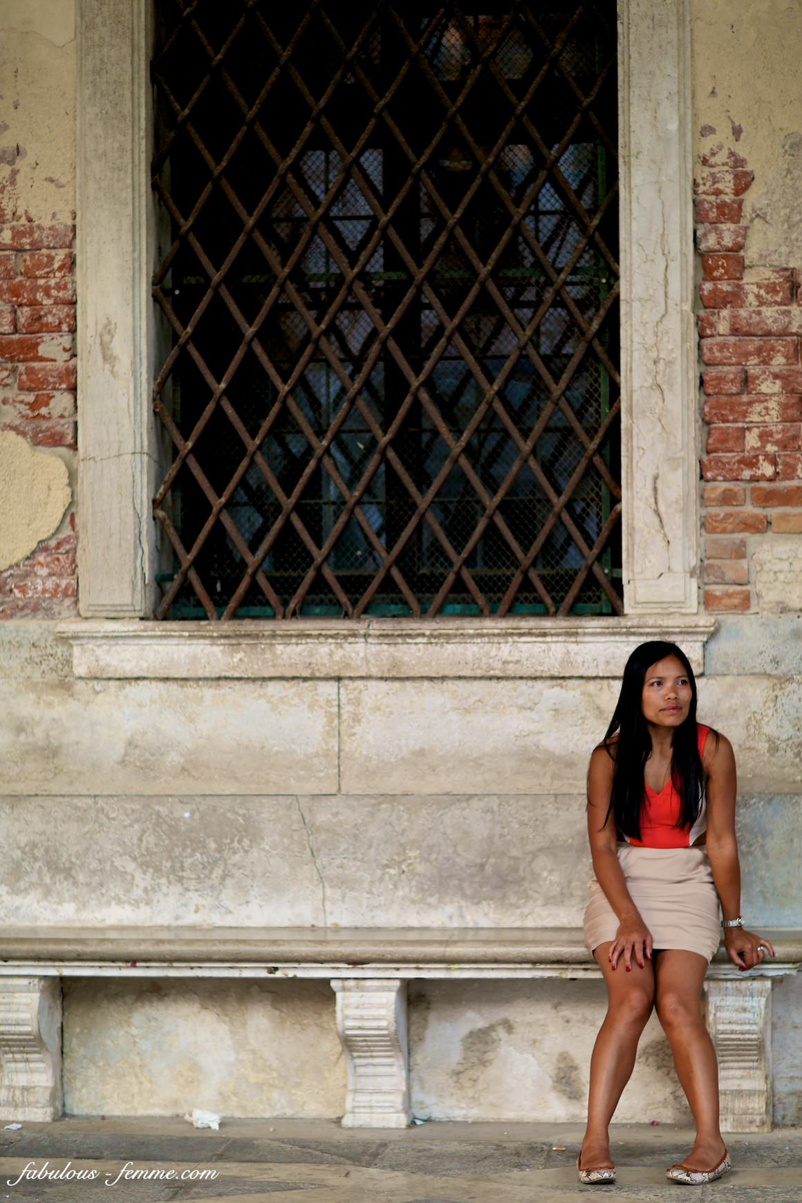 asian fashion blogger in italy
