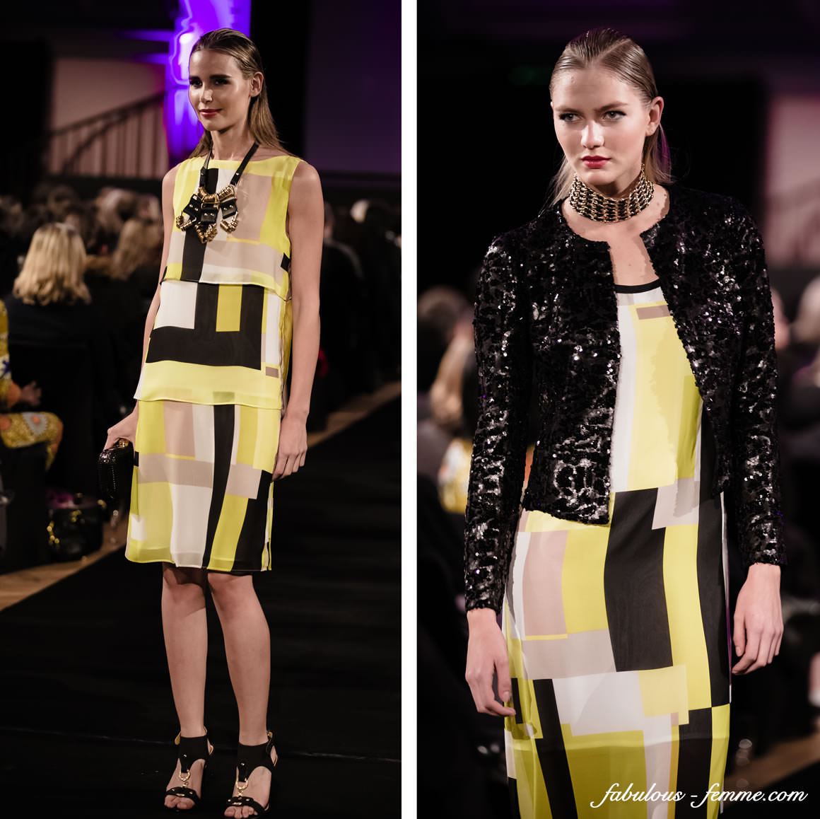 beautiful spring outfits at Melbourne Fashion Runway Show