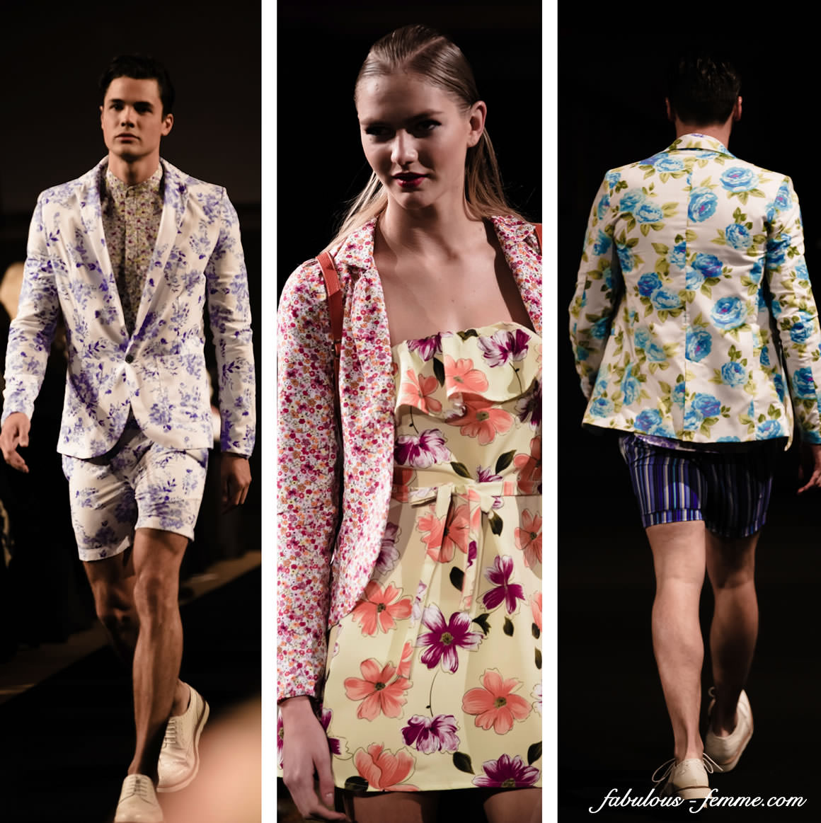 floral suits - male fashion 2013 2014