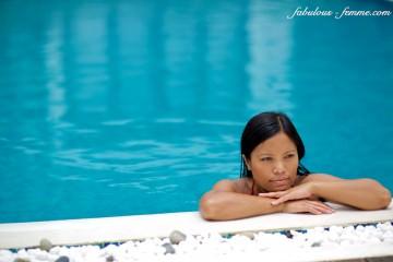 girl pool