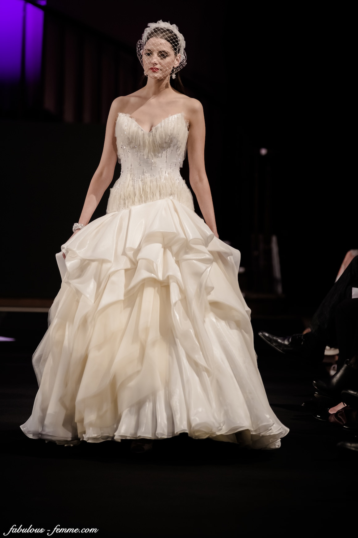 stunning wedding dresses at fashion show in melbourne