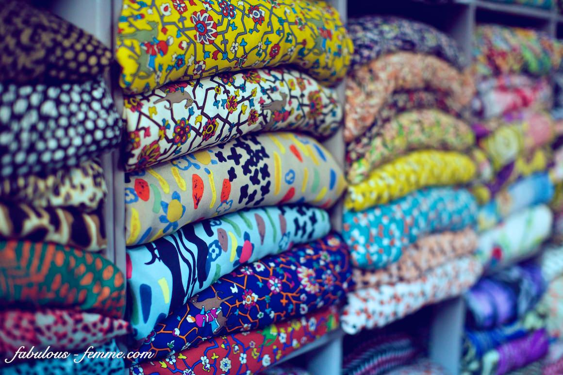 different fabrics for selection