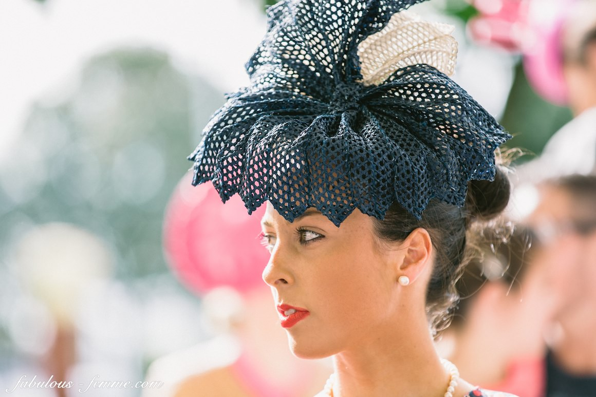 milliner - hats - racing fashion