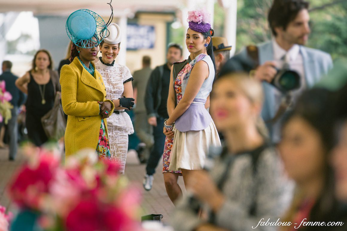 judging the fashions on the field