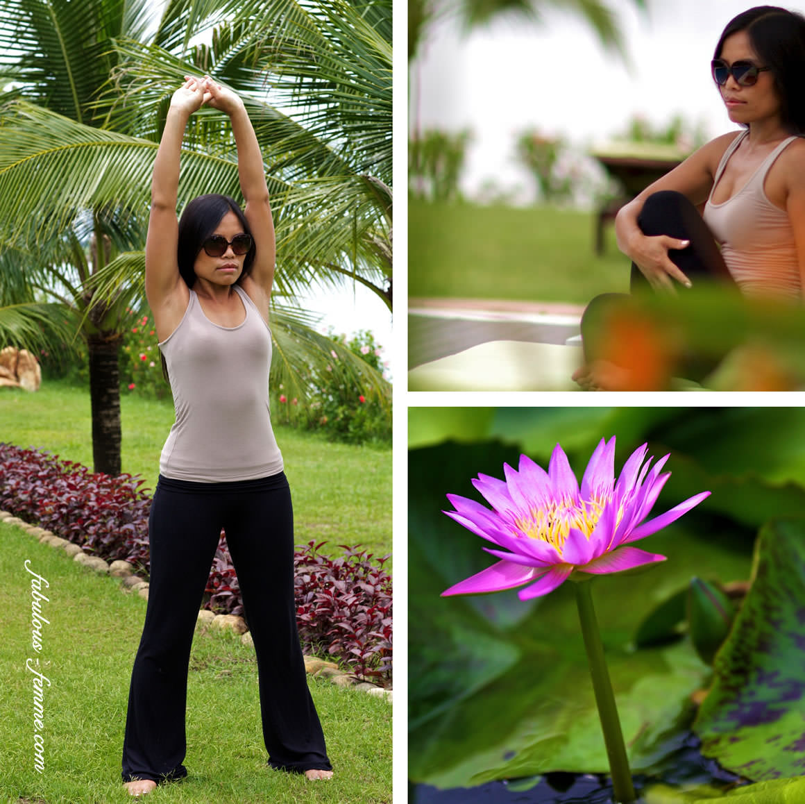 yoga in vietnam - hoi an yoga session