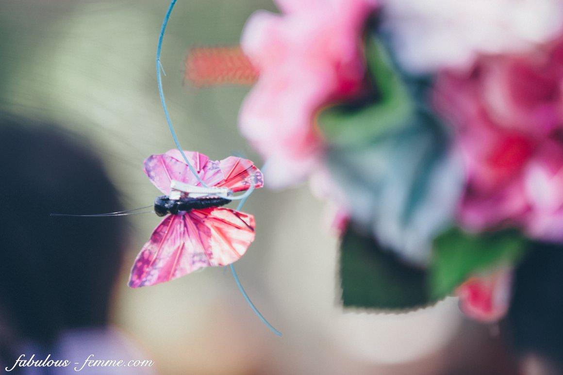 butterfly millinery