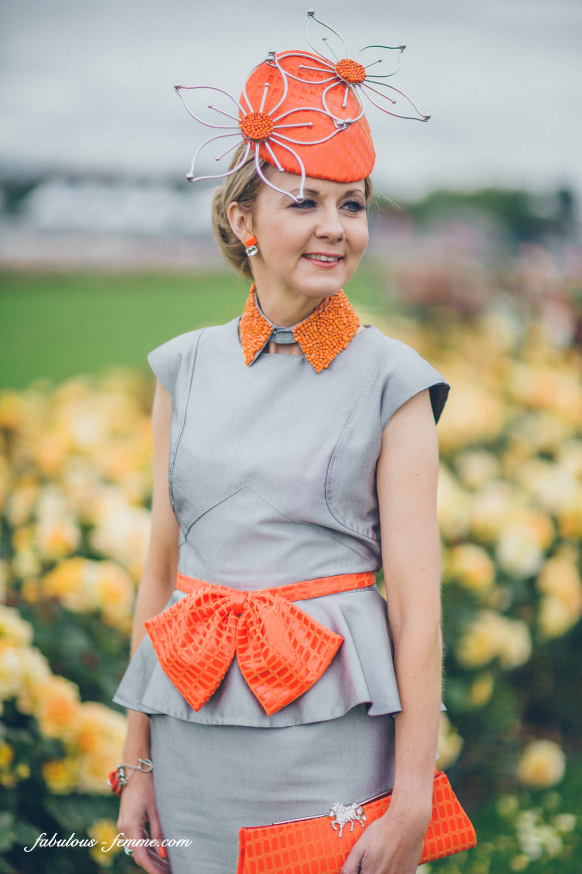 Melbourne racing fashion