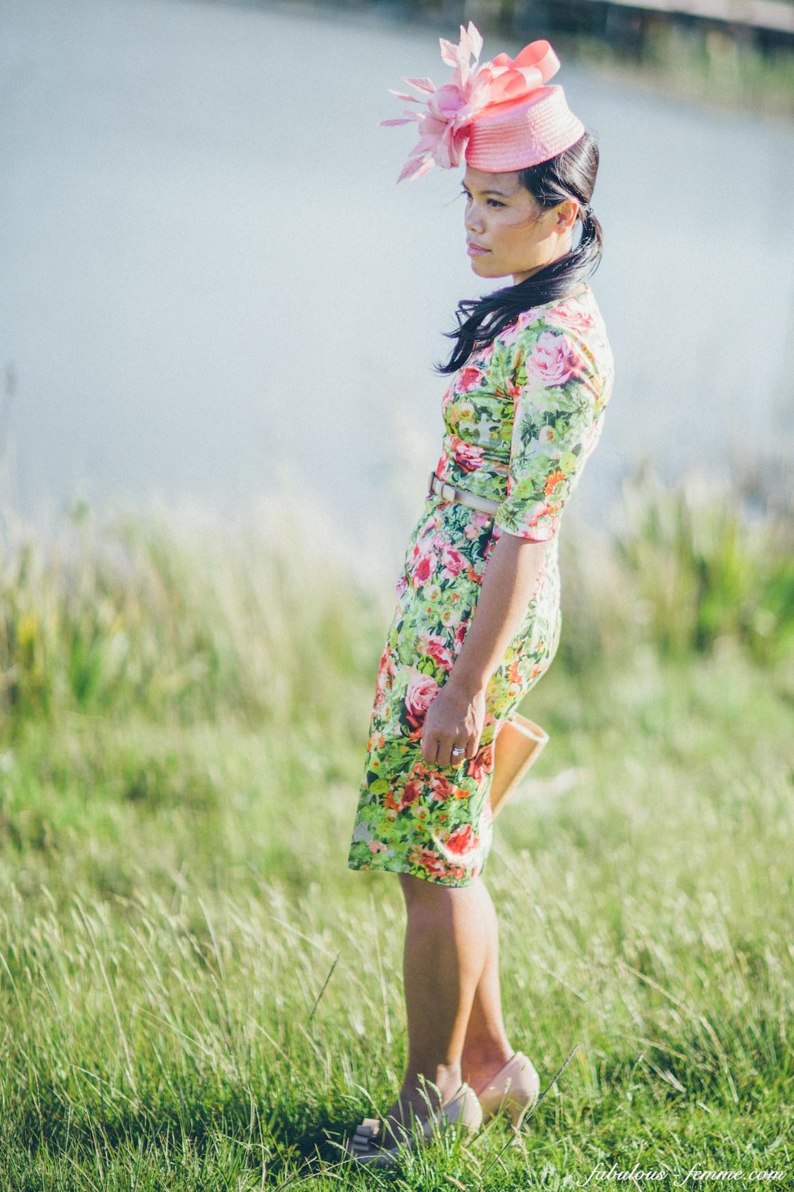 flower dress made in Vietnam
