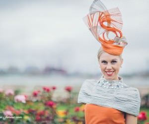 crystal kimber - finalist - fashions on the field 2013 - flemington