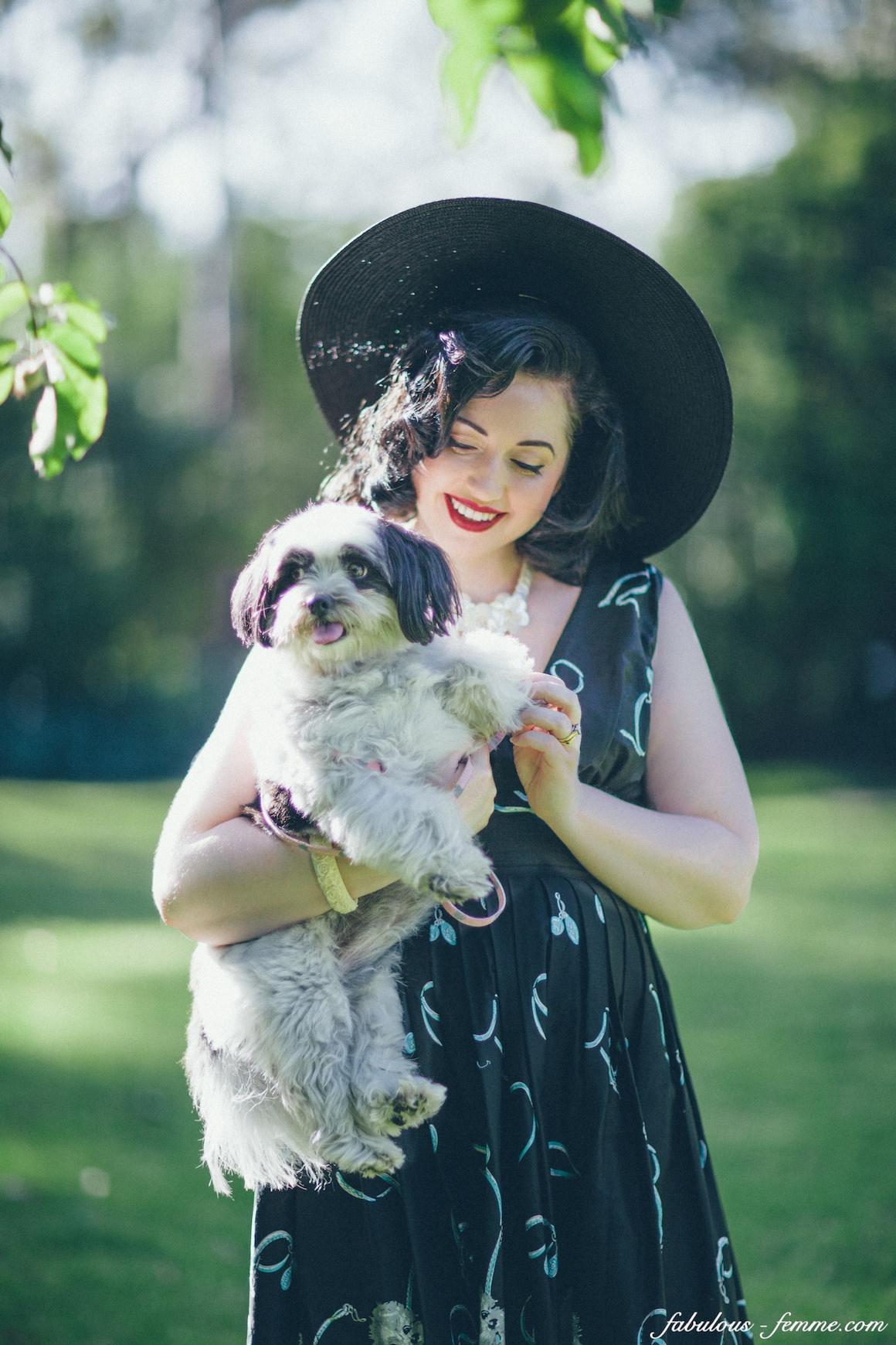 vintage blogger hair makeup styling - candice deville  - Melbourne