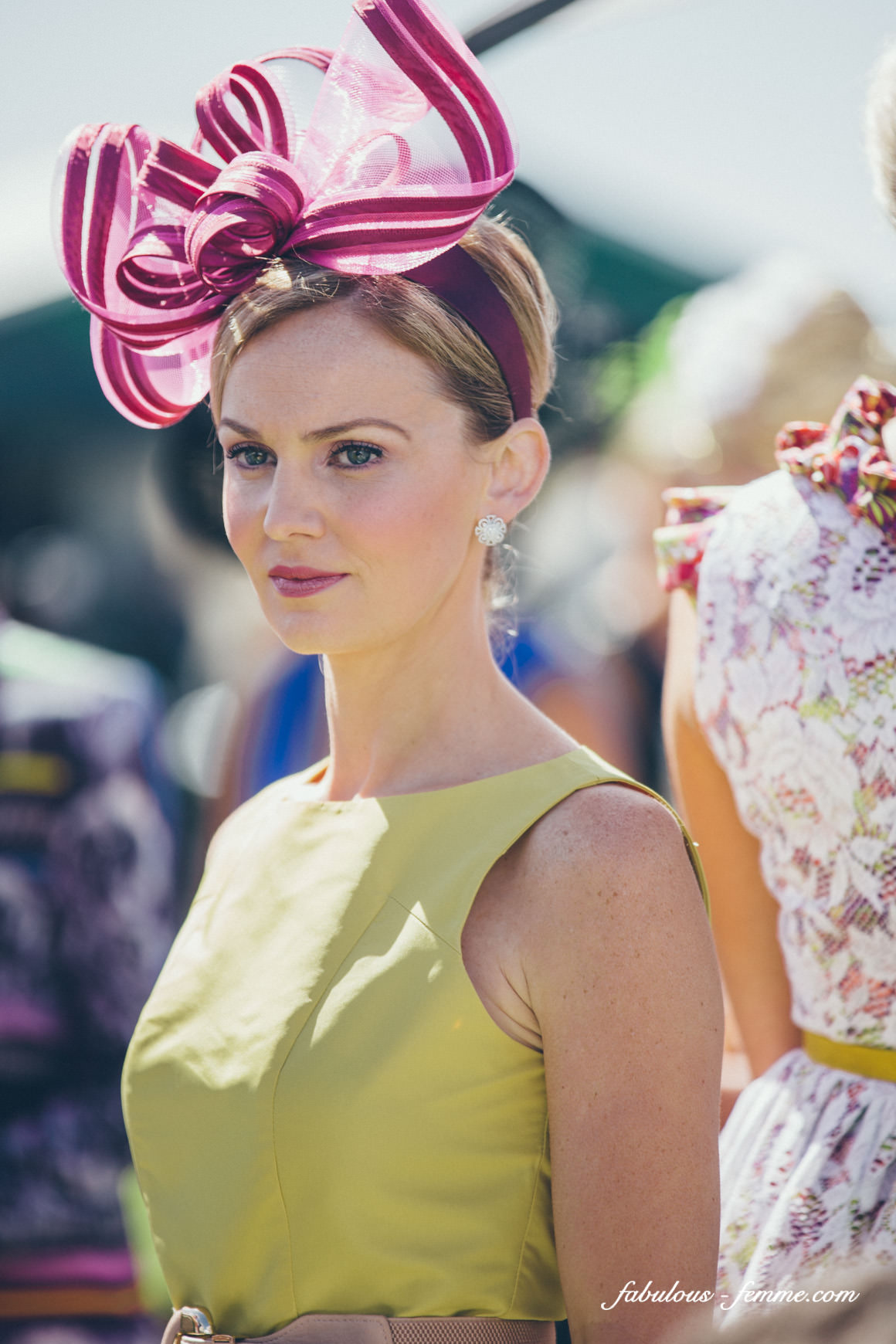 photos of spring fashion at melbourne cup, australia
