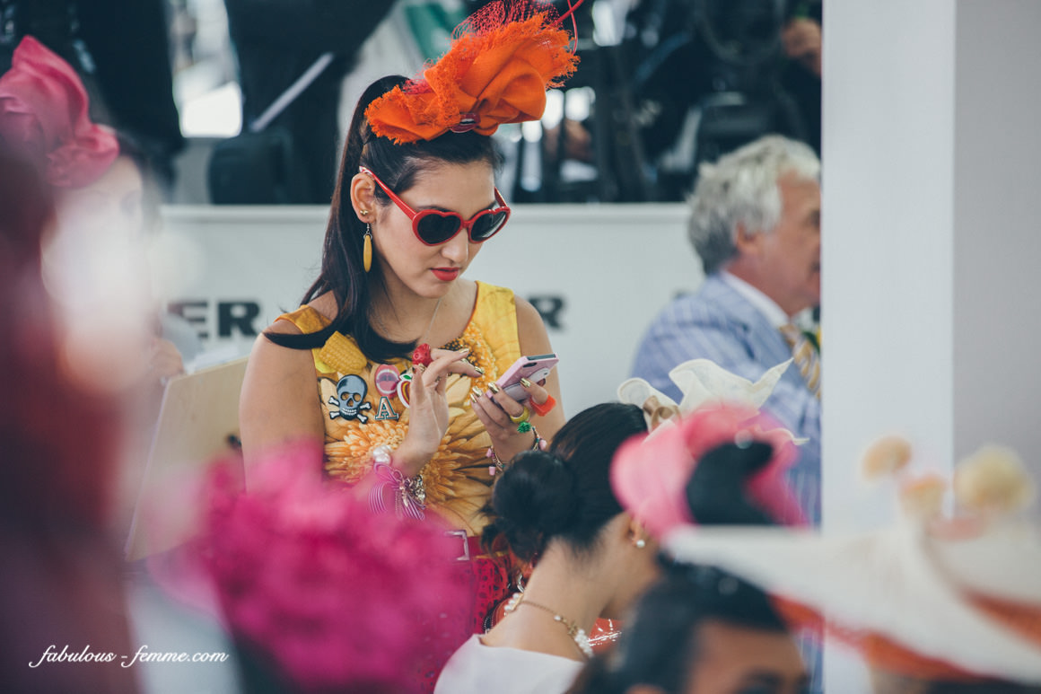 crazy outfits at the melbourne cup
