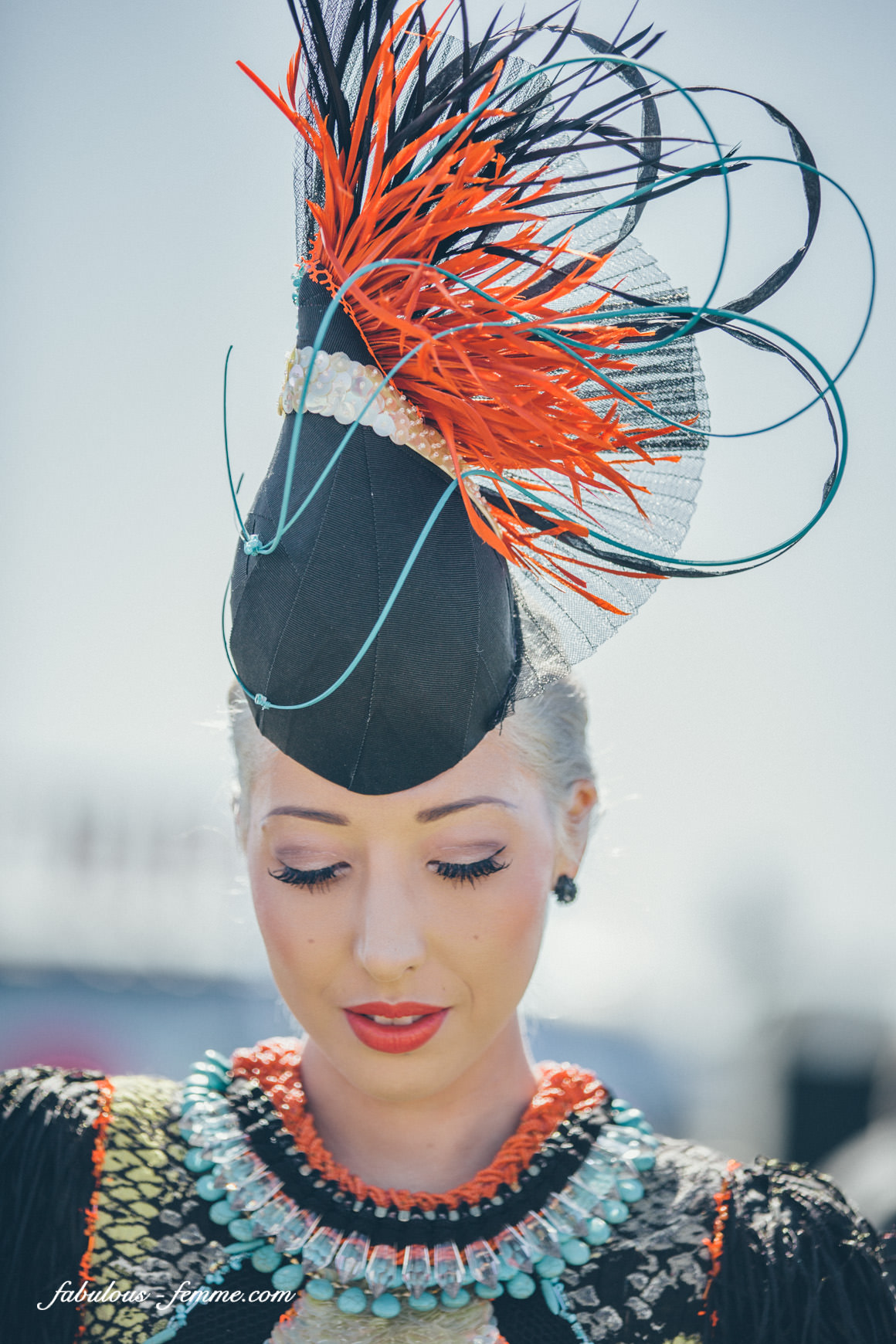 Pretty girls at Melbourne Cup