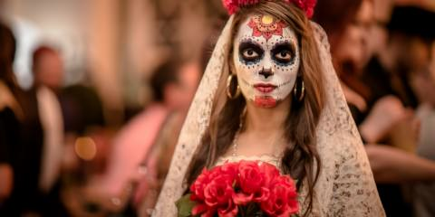 corpse bride - suger skull - day of the dead festifal