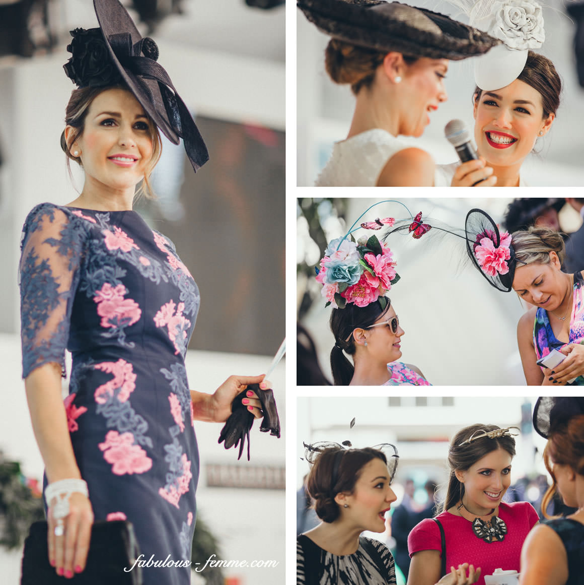 fashions on the field competition at the Cup in Melbourne