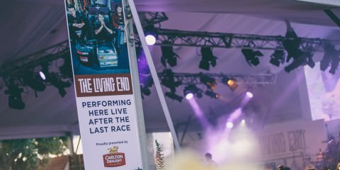 The living end concert