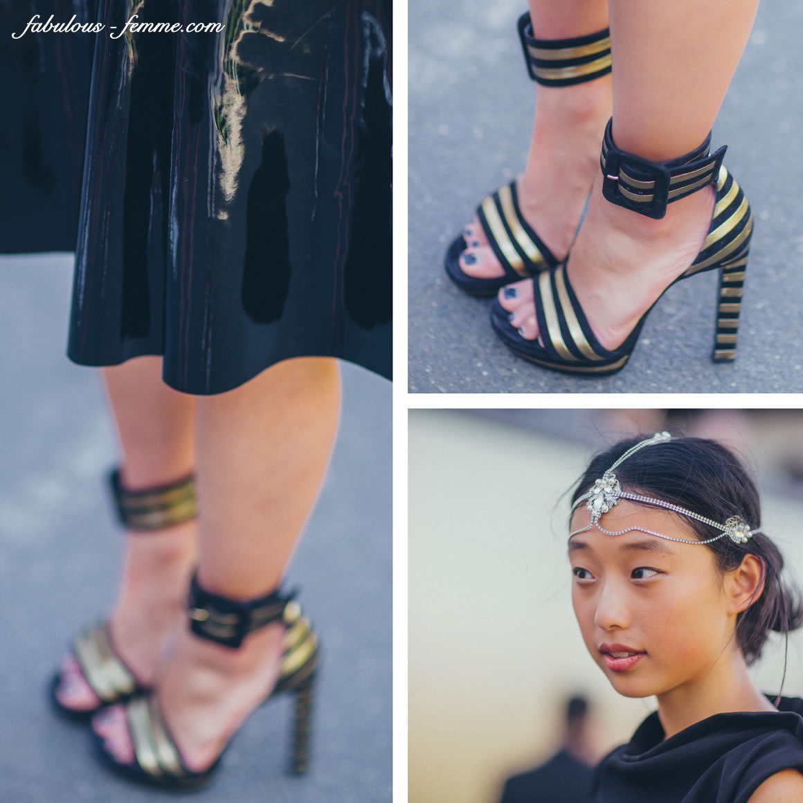 Fashion outfit of Margaret Zhang at Derby Day 2013 in Melbourne