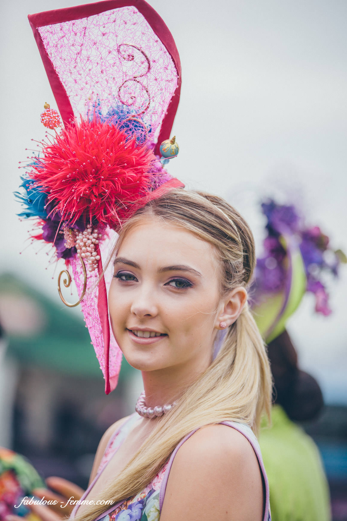 Melbourne Cup racing hats