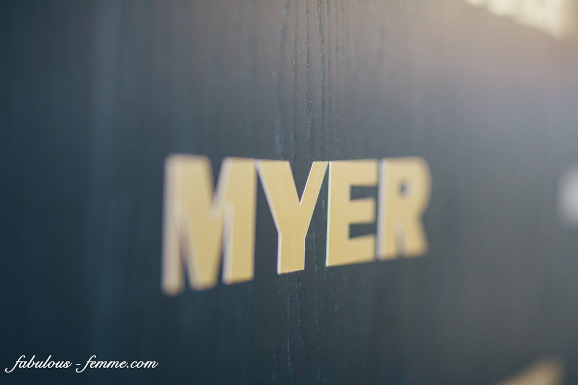 myer logo - melbourne cup