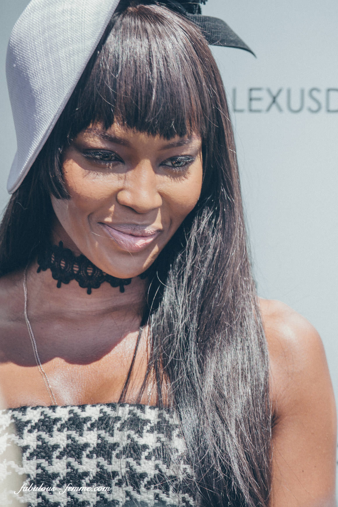 Supermodel Naomi Campbell - Portrait