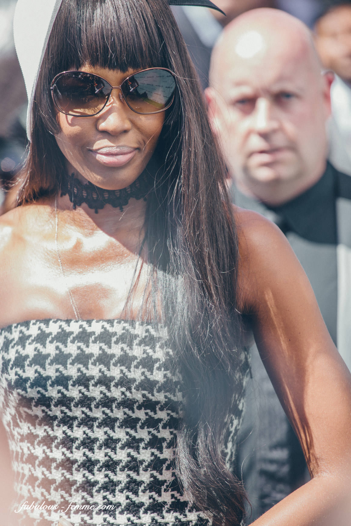 Naomi Campbell at Melbourne Cup