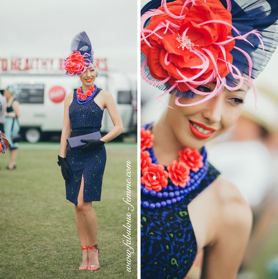 melbourne - oaks day fashion