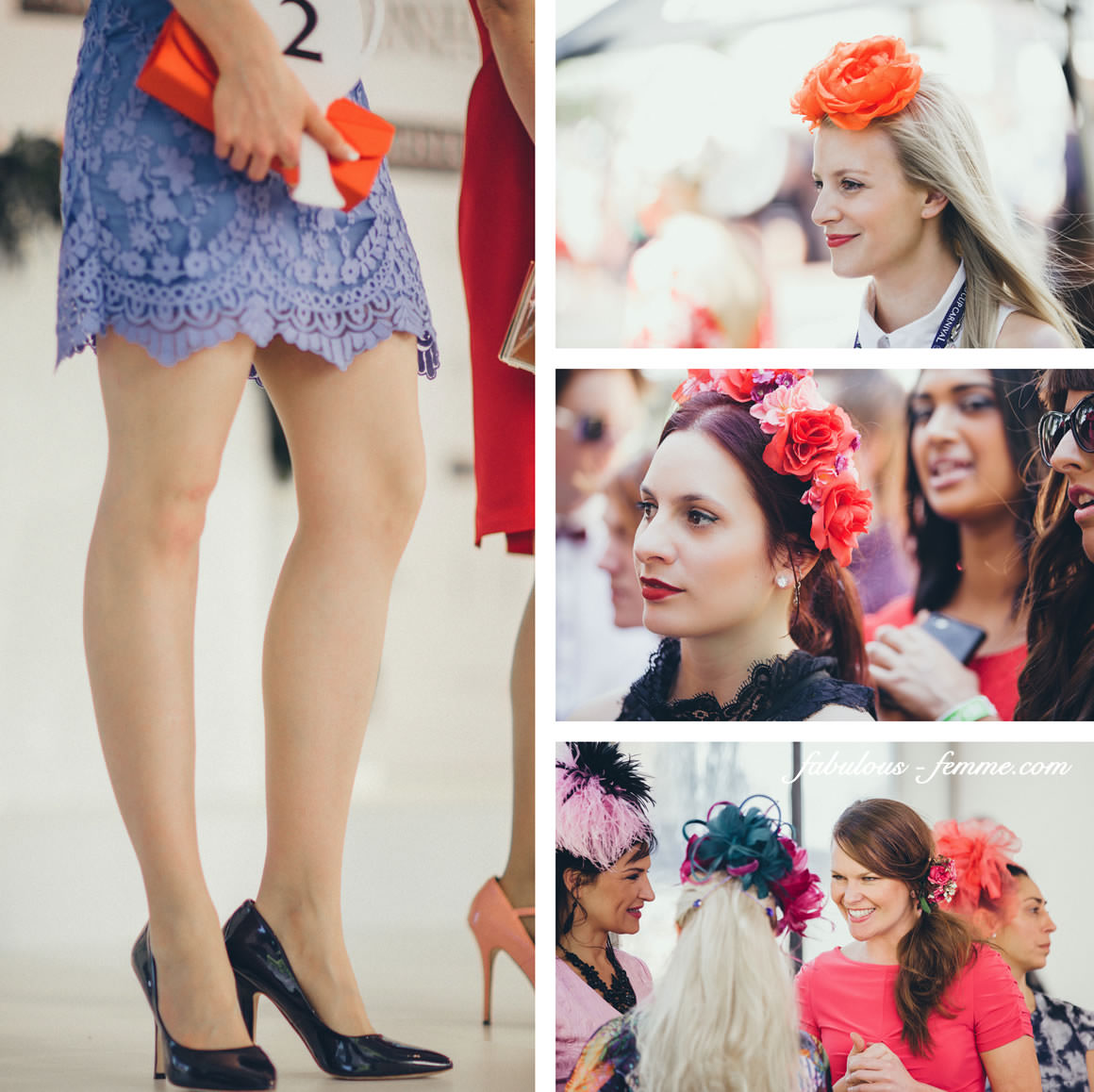 pretty girls at spring racing