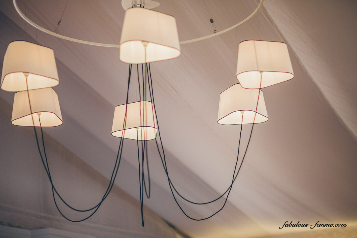 modern lamps for birdcage marquee - stylish