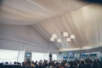 tabcorp tent at melbourne spring racing