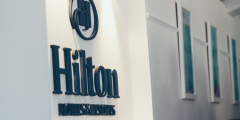 hilton sponsor of the melbourne spring racing - marquee birdcage
